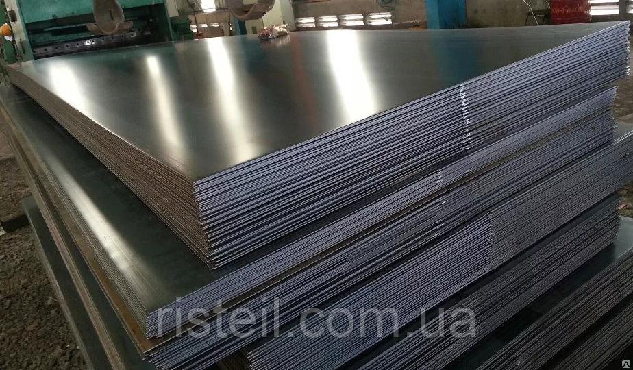 Лист алюминиевый 8,0х1500х4000 мм сплав АМЦ