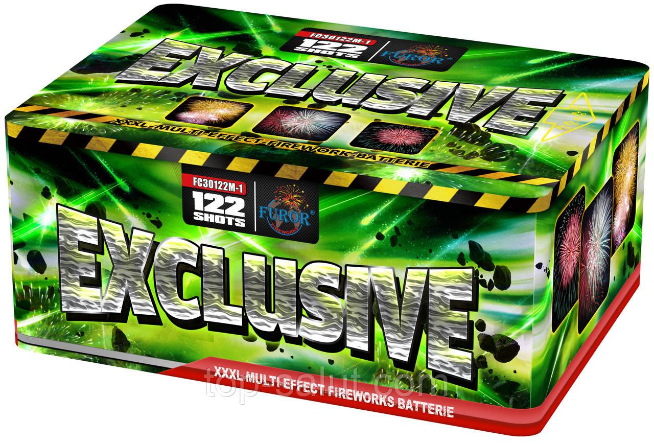Салютная установка Exclusive 122 залпов Mix + Веер