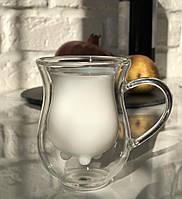 Комплект из 2 молочников с двойным дном 90 мл, EZ-3061