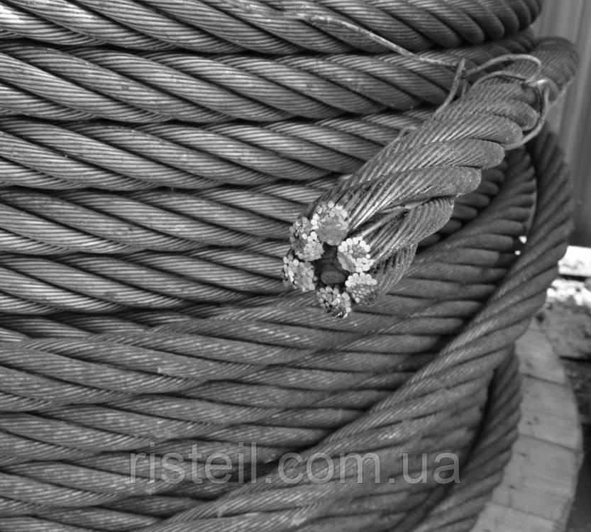 Канат стальной 11,5 мм  ГОСТ 7668-80