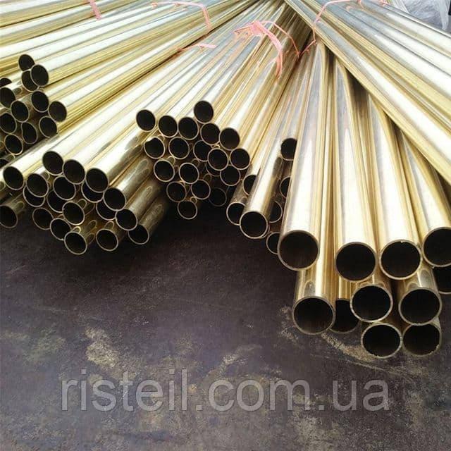 Труба латунная 34х1 мм сплав Л63