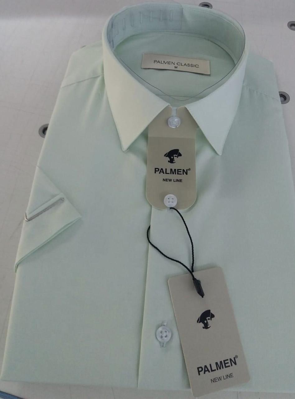Однотонна сорочка з коротким рукавом Palmen