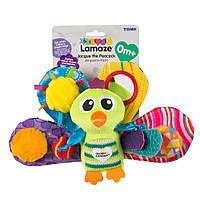 Lamaze Развивающая игрушка для малышей «Павлин», LC27013