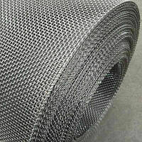 Сітка ткана н/ж 0,16х0,12, ширина 200 см