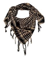 Арафатка, легкий платок-шарф, 100*100 см, песочный