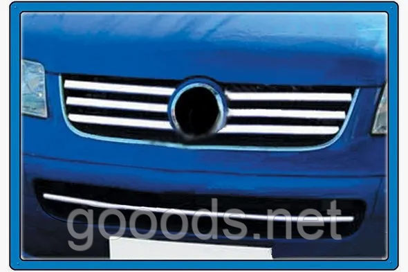 Хром накладка решетки радиатора Volkswagen T5 2004-2010 гг.