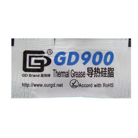 Термопаста GD900 0.5 гр, стікер, фото 2