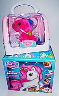 Лошадка Мой маленький пони,единорог в чемодане