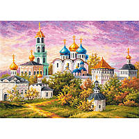 Набор для вышивания, Чудесная игла «Сергиев Посад. Троице-Сергиева Лавра»