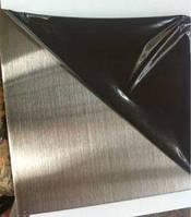Лист н/ж 430 2,0 (1,0х2,0) 2B+PVC, фото 1