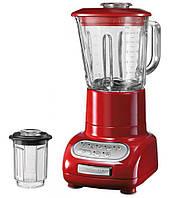 Блендер стационарный KitchenAid Artisan Красный (5KSB5553EER) с двумя чашами (произ-во США)