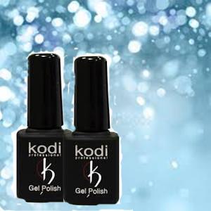 Гель-лаки Kodi Professional и палитры их цветовых оттенков