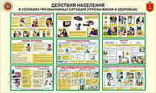 Стенд Куточок Плакат Цивільна Оборона (логотип Одеса)