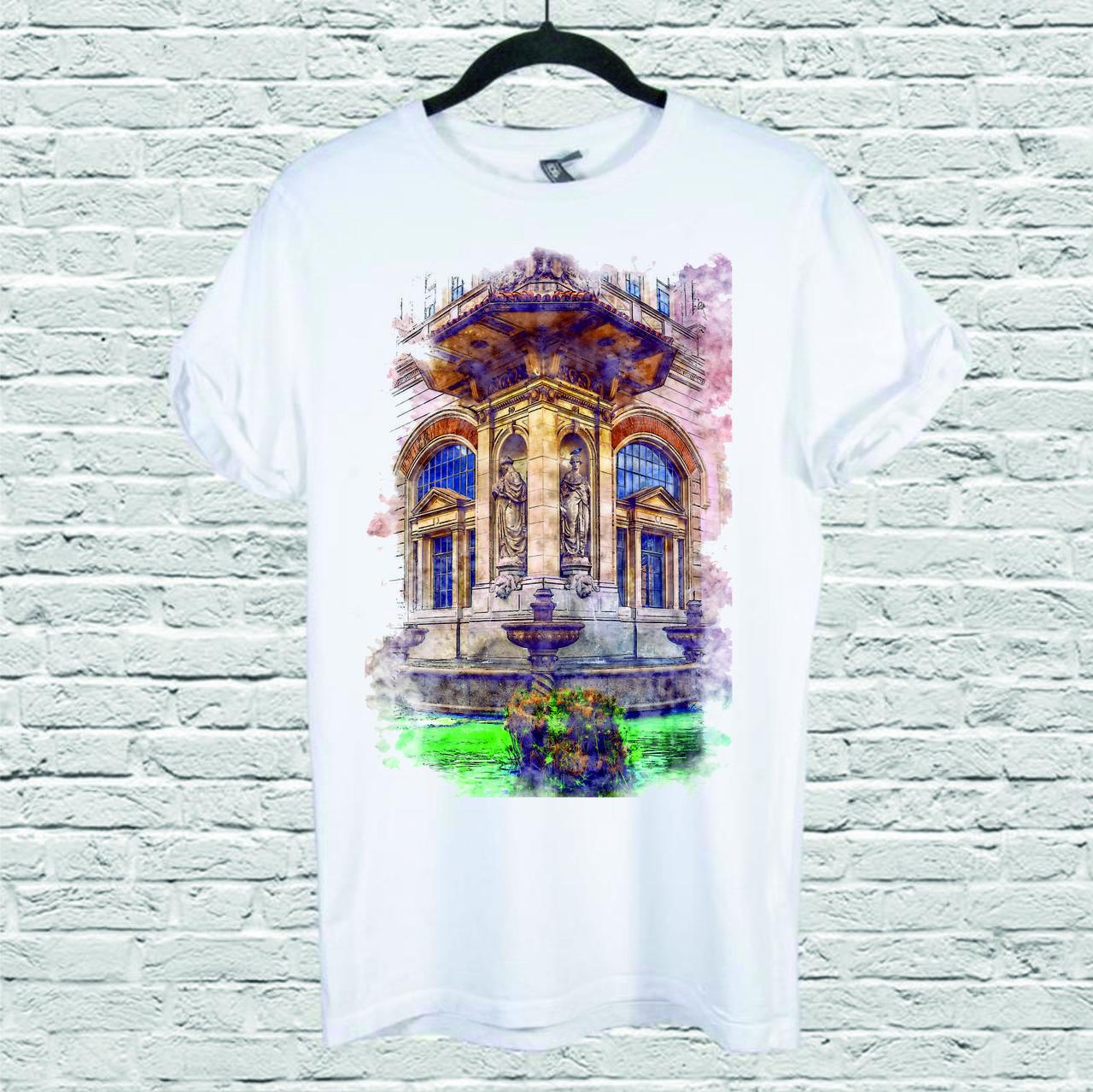Футболка YOUstyle Architecture 0112 L White