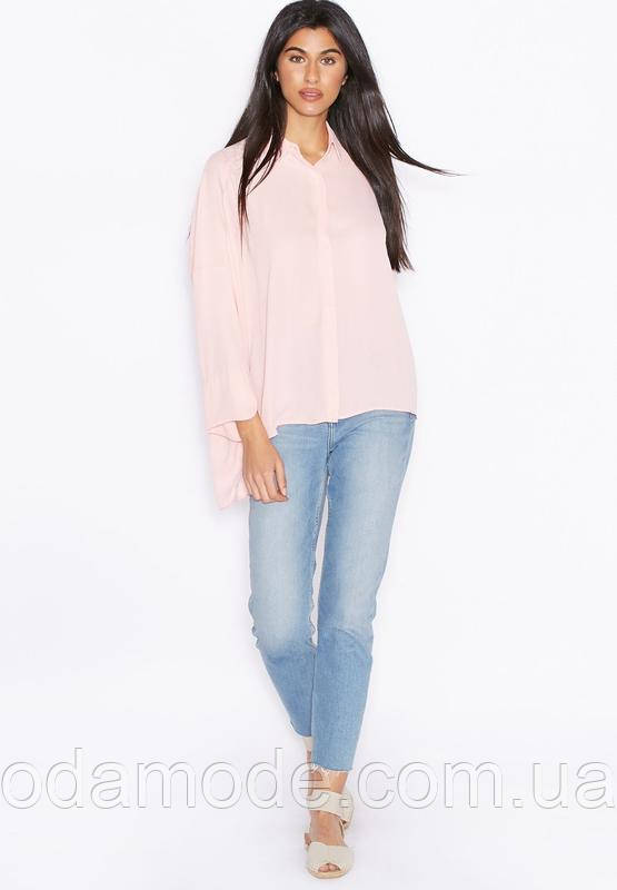 Блуза женская  mango розовая