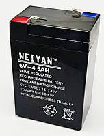 Аккумуляторная батарея 6V 4.5Ah. Аккумулятор 6v 4,5ah