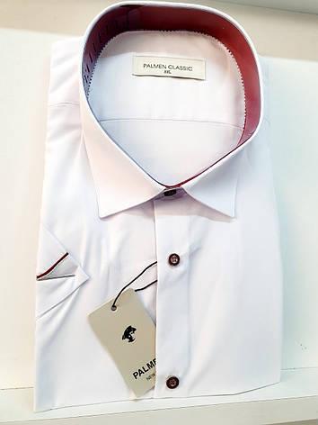 Однотоная рубашка с коротким  рукавом Palmen на кнопке, фото 2