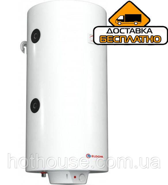 """Водонагреватель комбинированный ELDOM """"Green Line"""" 200  3.0 kW теплообменник 0,89 m² справа"""