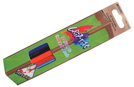 Карандаши цветные 12цв. MARCO Grip-Rite 9100-12CB