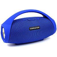 Портативная акустическая Bluetooth колонка Hopestar H31 (Синий)