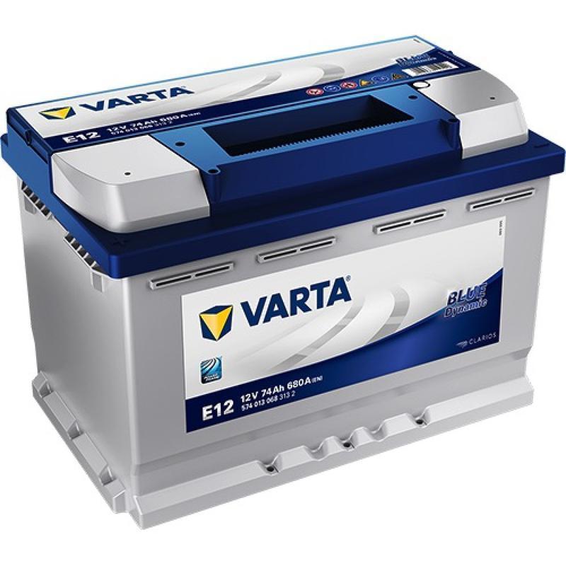 VARTA 74Ач Blue Dynamic E12 (1)