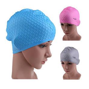 Силиконовая шапочка для плавания CONQUEST