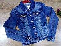 Куртка джинсовая женская, S,M pp, № 10431-1