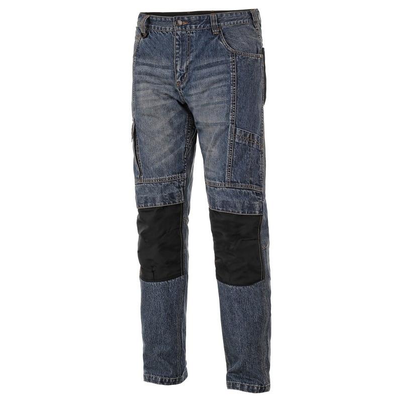 Брюки рабочие джинсовые CXS JEANS NIMES, синий, 100% х/б, пл.370 г/м2