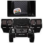 Детский электромобиль Джип Mercedes Benz M 3567EBLR-2(4WD) черный***, фото 4