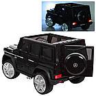 Детский электромобиль Джип Mercedes Benz M 3567EBLR-2(4WD) черный***, фото 3