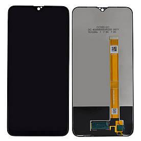 Дисплей для Oppo A5s   A7   AX7 с сенсорным стеклом (Черный) Оригинал Китай