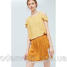 Блуза жіноча mango квітковий принт