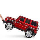 Детский электромобиль Джип Mercedes Benz 4WD M 3567EBLRS-3(4WD) красный автопокраска ***, фото 4