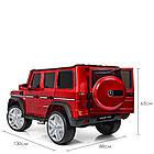 Детский электромобиль Джип Mercedes Benz 4WD M 3567EBLRS-3(4WD) красный автопокраска ***, фото 5