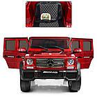 Детский электромобиль Джип Mercedes Benz 4WD M 3567EBLRS-3(4WD) красный автопокраска ***, фото 7
