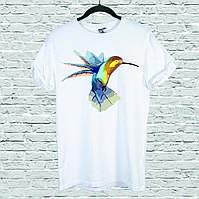 Футболка YOUstyle Hummingbird 0121 L White