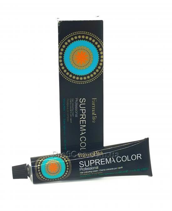 Купить FarmaVita Suprema Color 8.07 Стойкая крем-крем краска для волос - Холодный светлый блондин, 60 мл