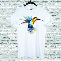 Футболка YOUstyle Hummingbird 0121 XXL White
