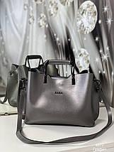 Стильна жіноча сумка, фото 3