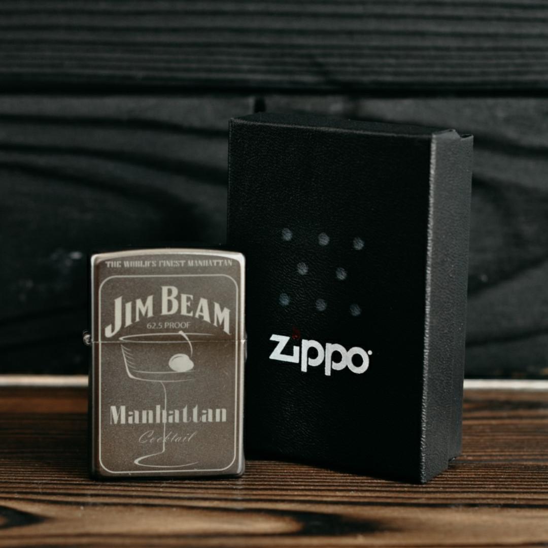 Запальничка Zippo 205 Jim Beam