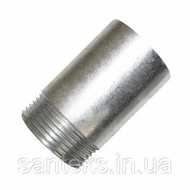 Оцинкованная резьба стальная приварная ДУ 20*2,5
