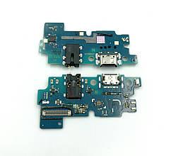 Нижняя плата для Samsung A505 Galaxy A50 (2019) с микрофоном и разъемом зарядки Оригинал GH96-12460A