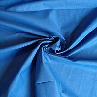Бязь однотонная синяя 220см.