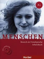 Menschen A1 Arbeitsbuch mit CDs (тетрадь по немецкому языку)