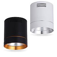 Светодиодный светильник белый, черный AL542 18W 4000К Feron
