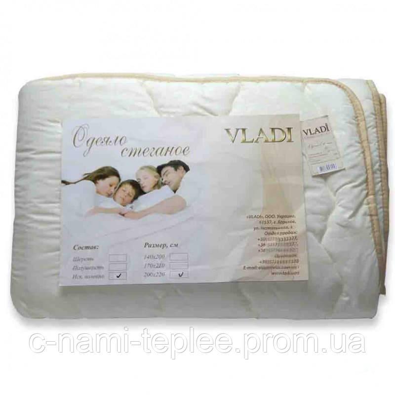 Одеяло облегченное стеганое Vladi холлофайбер 170х210 см