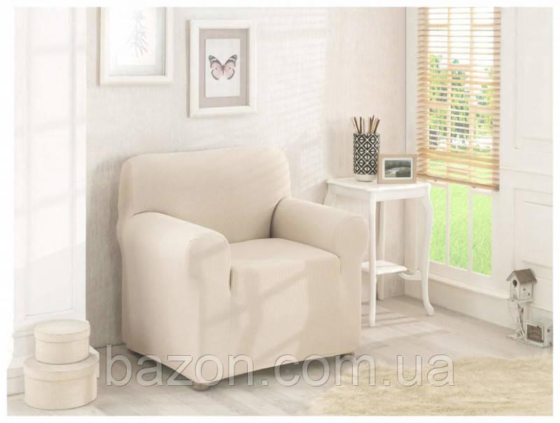 Чехол на кресло Молочный Home Collection Evibu Турция