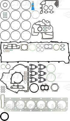 51009006709 Набор прокладок (полный) MAN TGA, TGS, TGX D2066 / VICTOR REINZ 01-37180-04