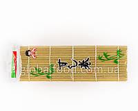 Бамбуковий Килимок для Суші та Ролів (Рогожа,Матік,Макісу) (24х24 див.)