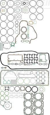 51009006659 Полный Комплект прокладок MAN E 2000, F 2000, HOCL, LION S COACH, LION S STAR, TGA D2866 / VICTOR REINZ 01-35145-01